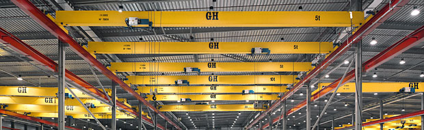 Top Running Single-Girder Overhead Cranes