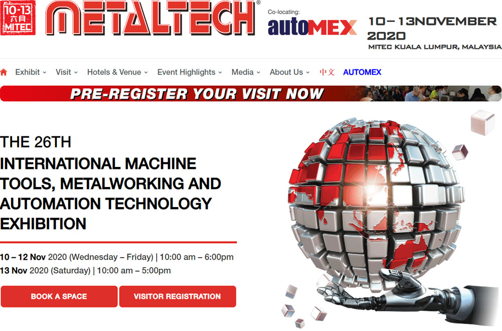 GH to attend Metaltech 2020